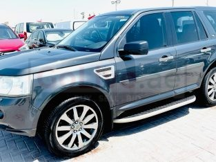 Land Rover LR2 2009 AED 16,000, GCC Spec, Good condition, Warranty, Full Option, Family, Sunroof, Fog Lights, Negotiable