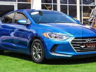 Hyundai Elantra 2017 AED 28,000, Good condition, Full Option, US Spec, Fog Lights