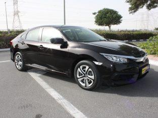 Honda Civic 2019 AED 53,000, GCC Spec, Warranty, Full Service Report