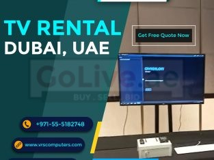 Hire LCD, LED & Smart TVs in Dubai UAE