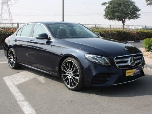 Mercedes Benz E-Class 2019 , GCC Spec,AED 215,00 Warranty, Full Option, Turbo, Sunroof, Navigation System, Fog Lights, Negotiable
