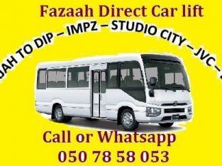 Sharjah to Dubai Investment Park DIP