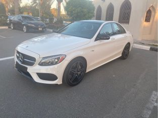 Mercedes Benz C-Class 2018 AED 125,000, Good condition, Full Option, US Spec, Turbo, Family, Sunroof, Navigation System, Fog Light