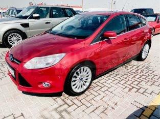 Ford Focus 2013 AED 15,000, GCC Spec, Good condition, Full Option, Sunroof, Fog Lights