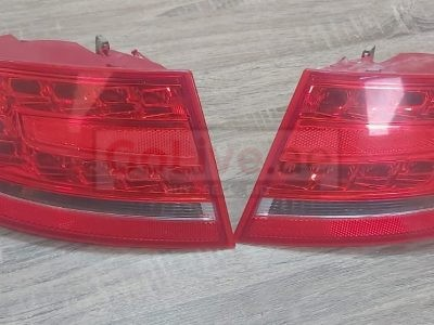 AUDI A4 2009 TO 2012 REAR OUTER TAIL LIGHTS LED RIGHT & LEFT PART NOS 8K5 945 096L & 8K5 945 095L ( Genuine Used AUDI Parts )
