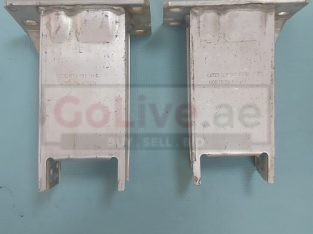 AUDI A4 2009 TO 2012 FRONT BUMPER IMPACT SUPPORT BRACKETS RIGHT & LEFT PART NOS 8K0807134C & 8K0807133C( Genuine Used AUDI Parts )