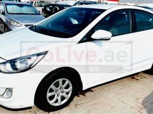 Hyundai Accent 2015 AED 16,500, GCC Spec, Good condition, Fog Lights, Negotiable