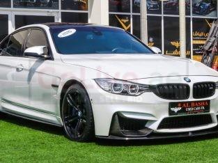 BMW M3 2015 AED 125,000, GCC Spec, Good condition, Full Option, Turbo, Sunroof, Navigation System, Fog Lights