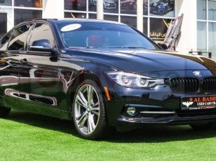 BMW 3-Series 2018 AED 90,000, Good condition, Full Option, US Spec, Sunroof, Navigation System, Fog Lights