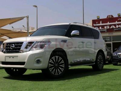 Nissan patrol 2018 AED 175,000, GCC Spec, Good condition, Full Option, Sunroof, Navigation System, Fog Lights, Negotiable