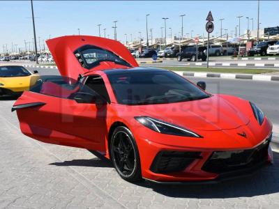 Chevrolet Corvette 2020 AED 385,000, Good condition, Full Option, Turbo, Sunroof, Navigation System, Fog Lights