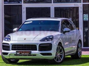Porsche Cayenne 2019 AED 360,000, GCC Spec, Good condition, Warranty, Full Option, Turbo, Sunroof, Navigation System, Fog Lights