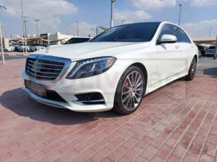 Mercedes Benz S-Class 2014 AED 155,000, GCC Spec, Good condition, Warranty, Full Option, US Spec, Turbo, Family, Sunroof, Navigati