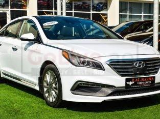 Hyundai Sonata 2015 AED 45,000, Good condition, Full Option, US Spec, Sunroof, Navigation System, Fog Lights