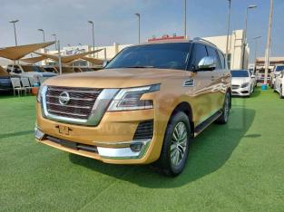 Nissan Patrol 2020 AED 220,000, GCC Spec, Good condition, Warranty, Sunroof, Navigation System