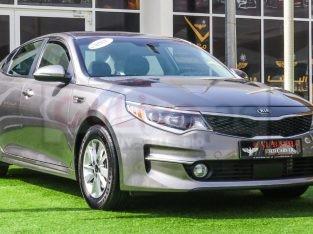 KIA Optima 2017 AED 33,000, Good condition, US Spec, Fog Lights