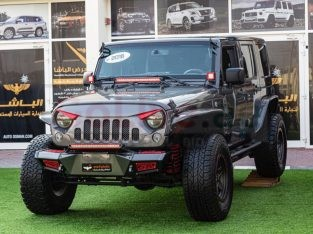 Jeep Wrangler 2016 AED 125,000, GCC Spec, Good condition, Warranty, Full Option, Sunroof, Navigation System