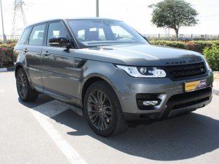 Full Service Report Range Rover Sport 2018 , GCC Spec, Good condition, Warranty, AED 238,000