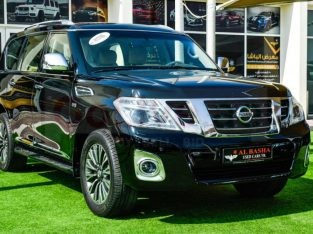 Nissan Patrol 2016 AED 125,000, GCC Spec, Good condition, Full Option, Sunroof, Navigation System, Fog Lights