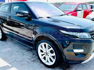 Range Rover Evoque Coupe 2012 AED 55,000, GCC Spec, Good condition, Warranty, Full Option, Sunroof, Navigation System, Fog Lights,