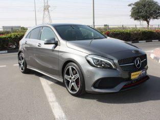 Mercedes Benz A-Class 2018 GCC Spec, Good condition, Warranty, Full Option,AED 109,000,