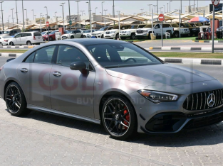 Mercedes Benz CLA 2020 AED 295,000, Good condition, Warranty, Full Option, Turbo, Sunroof, Navigation System, Fog Lights