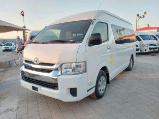 Toyota Hiace 2015 AED 72,000, GCC Spec, Full Option, Negotiable