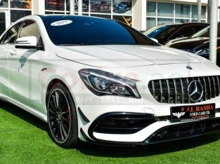 Mercedes Benz CLA 2017 AED 115,000, Japanese Spec, Good condition, Full Option, Turbo, Sunroof, Navigation System