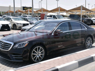 Mercedes Benz S-Class 2018 AED 295,000, Good condition, Warranty, Full Option, Turbo, Sunroof, Navigation System, Fog Lights