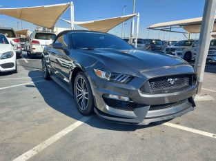 Ford Mustang 2017 AED 55,000, Good condition, Full Option, Turbo,
