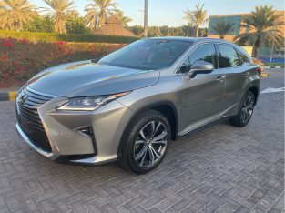 Lexus RX-Series 2017 AED 135,000, GCC Spec, Good condition, Full Option, Turbo, Family, Sunroof, Lady Use, Navigation System,