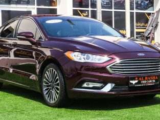 Ford Fusion 2017 AED 48,000, Good condition, Full Option, US Spec, Sunroof, Navigation System, Fog Lights