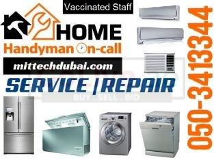 All Brands All Models Ac Fridge Service Repair Center in Dubai