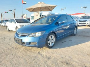 Honda Civic 2008 AED 14,500, GCC Spec, Full Option, Sunroof, Negotiable