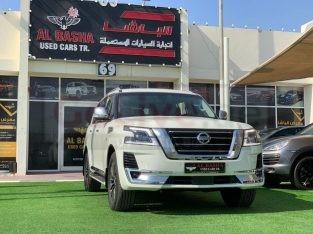 Nissan Patrol 2014 AED 145,000, GCC Spec, Good condition, Full Option, Sunroof, Navigation System, Fog Lights