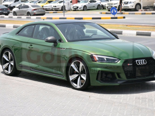 Audi S5/RS5 2018 AED 235,000, Good condition, Warranty, Full Option, Turbo, Sunroof, Navigation System, Fog Lights