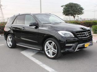 Mercedes Benz M-Class 2014 AED 88,000, GCC Spec, Full Option, Sunroof,