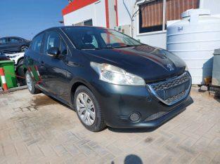 Peugeot 208 2015 AED 15,000, GCC Spec, Good condition, Full Option, Fog Lights