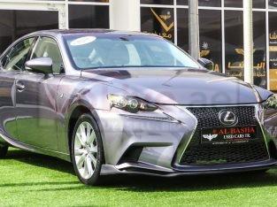 Lexus IS-Series 2014 AED 40,000, Good condition, Full Option, US Spec, Sunroof, Navigation System, Fog Lights