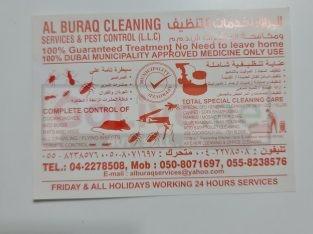 Al buraq cleaning services & Pest Control LLC ( Best Pest Control in international )