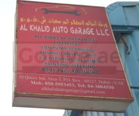HONDA repairing center Dubai