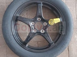 Cadillac STS 2005 TO 2006 16″ COMPACT SPARE WHEEL RIM TIRE T145/70R17 ( Genuine Used CADILLAC Parts )