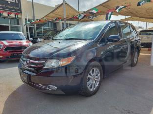 Honda Odyssey 2014 AED 38,000, GCC Spec, Good condition, Full Option, Fog Lights, Negotiable