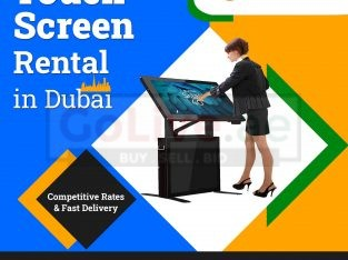 LED Touch Screen on Rent in Dubai UAE