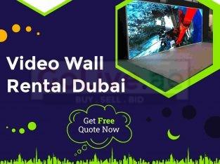 Best Video Wall Rental Company in Dubai, UAE