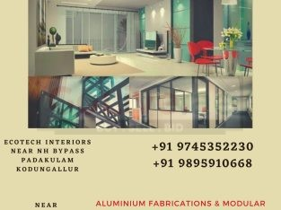 Aluminium Modular kitchen Dealers in Edappally Aluva Tripunithura Kaloor Palarivattom Kakkanad