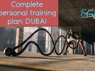 Complete personal training plan (DUBAI PERSONAL TRAINER)