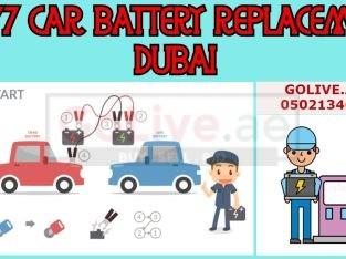 24/7 Car Battery Replacement Dubai