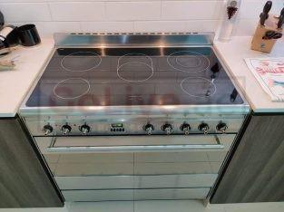 Home appliances, cooker, washing machine, dishwasher
