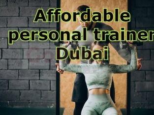 Affordable personal trainer Dubai